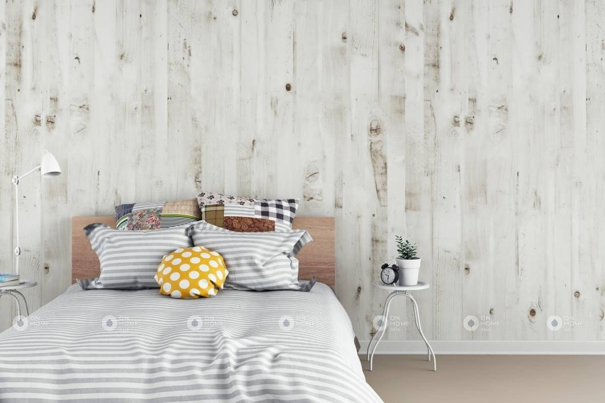 Ốp tường phòng ngủ đẹp