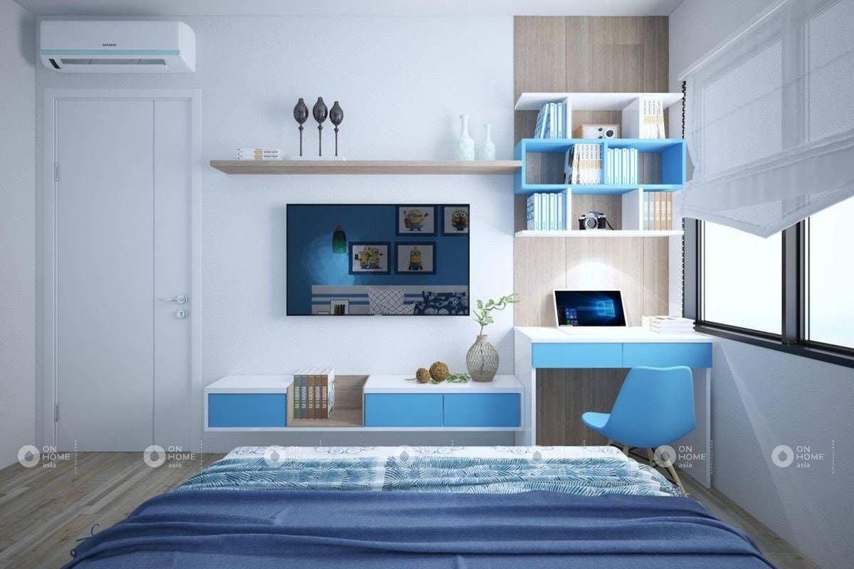 Sơn tường phòng ngủ là cách được sử dụng nhiều nhất