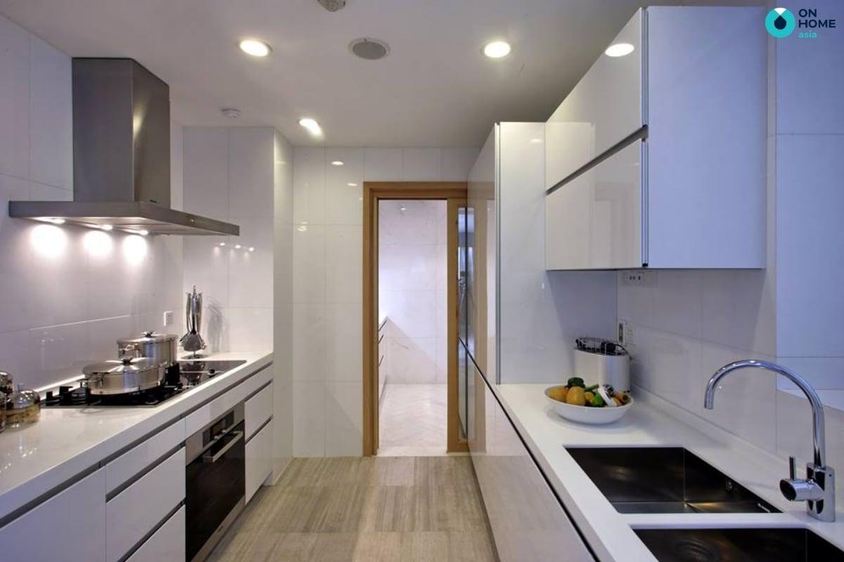 bếp song song dùng trong phòng bếp