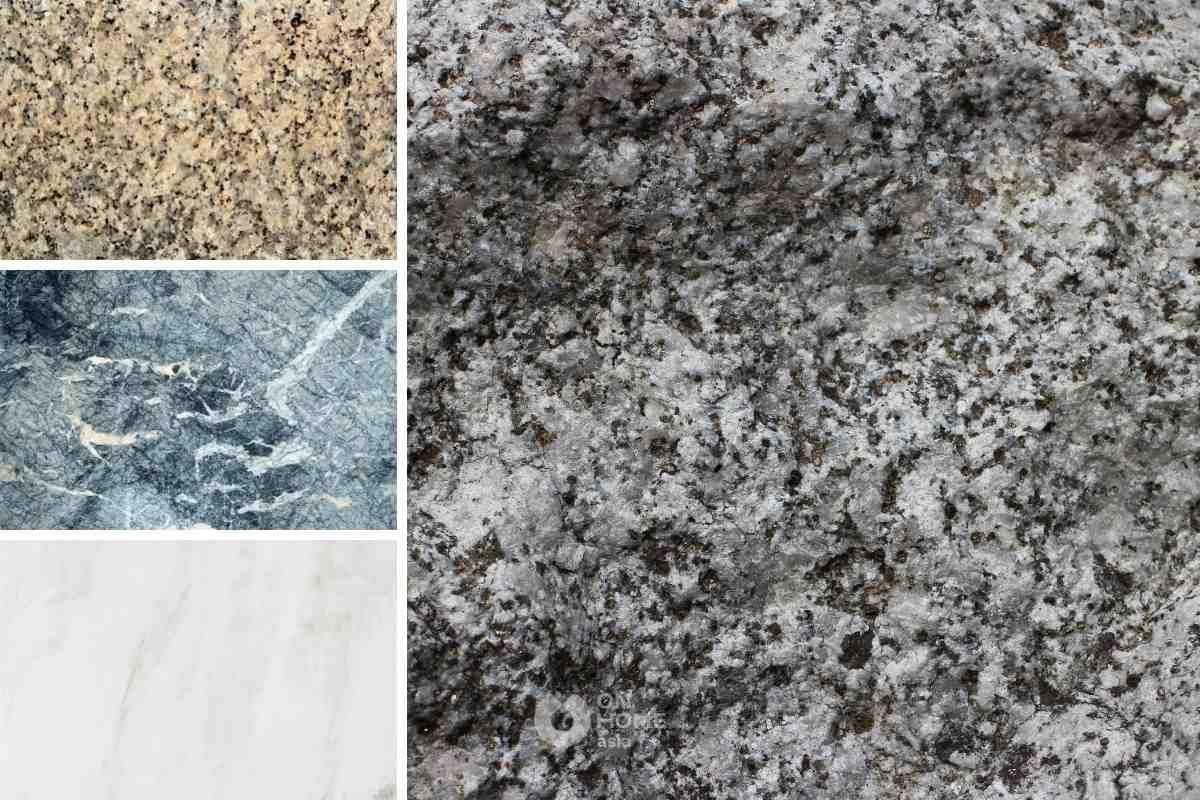 Đá hoa cương làm vật liệu được sử dụng cho nội thất