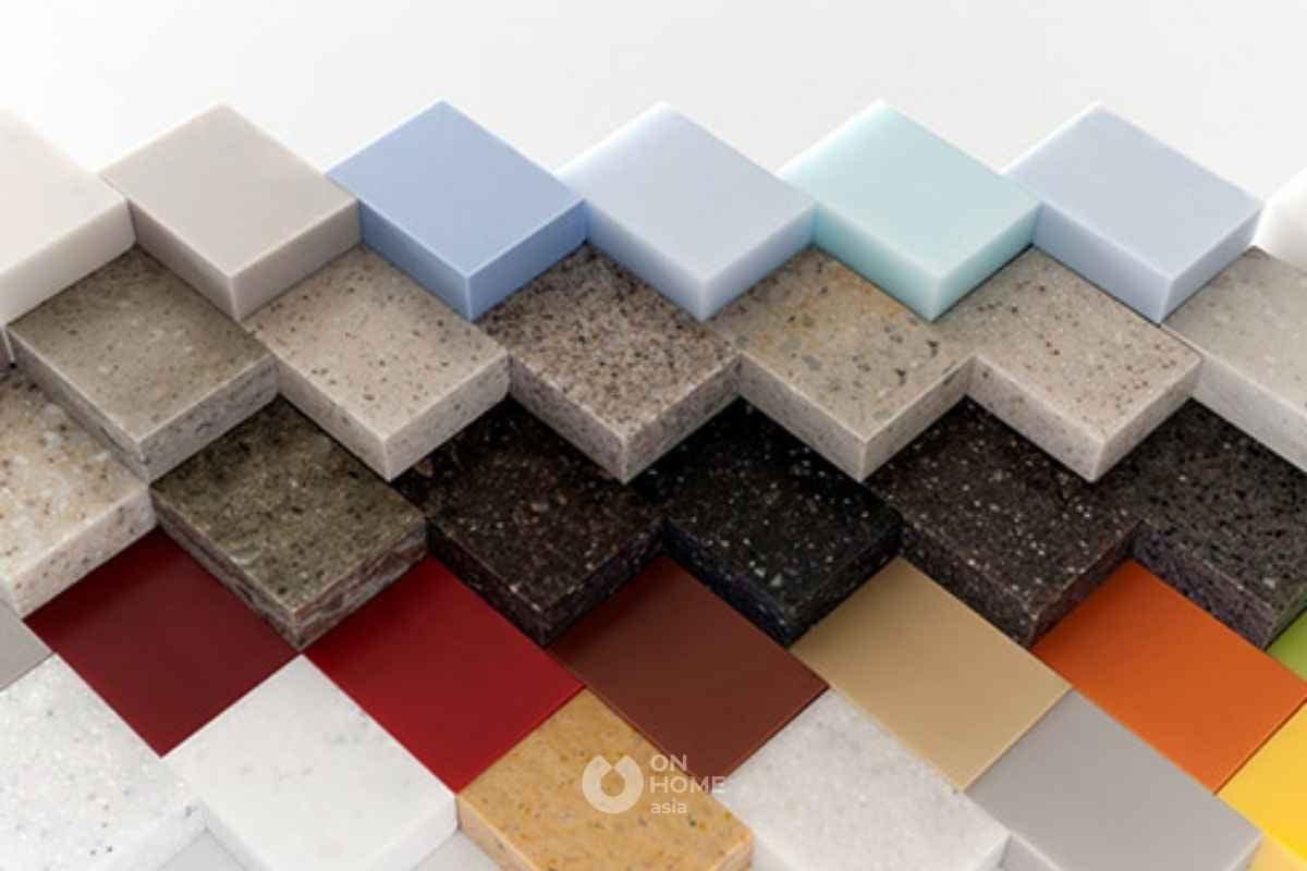 Đá solid surface dùng trong nội thất