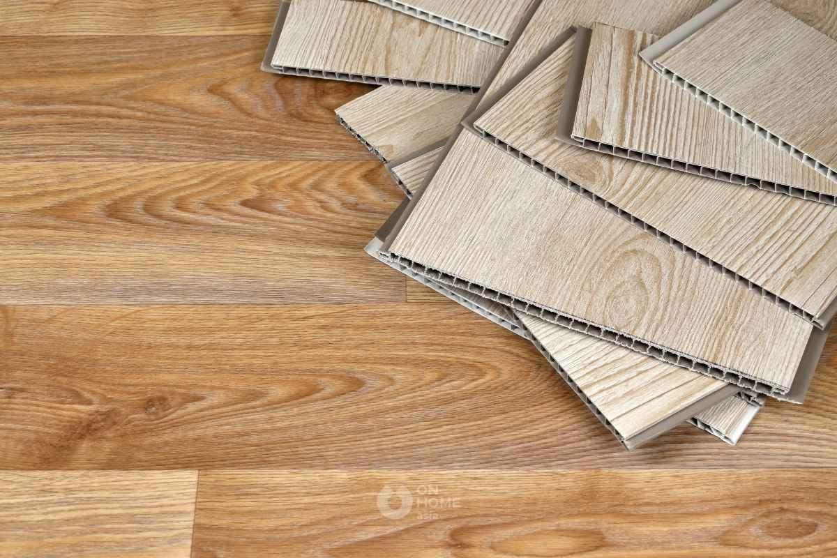 Tấm ốp tường PVC vân gỗ đẹp
