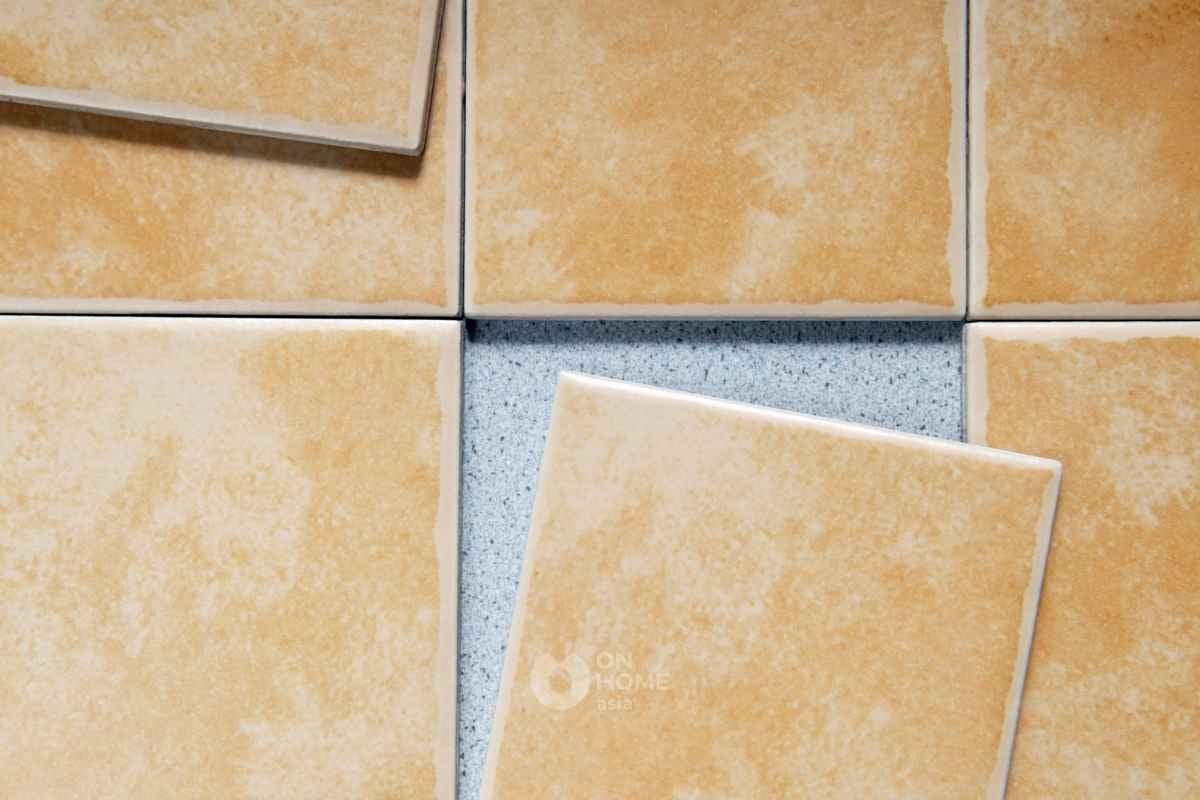 Gạch Ceramic để lót sàn.
