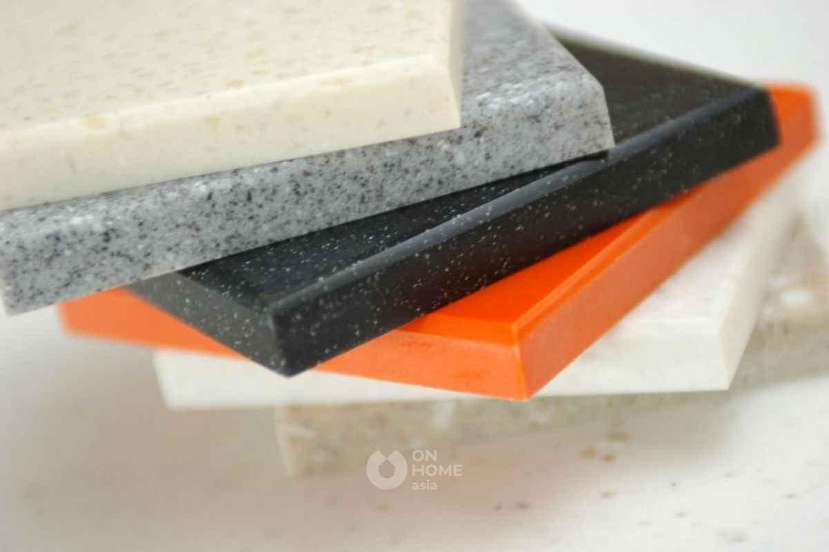 Sàn đá nhân tạo đang phổ biến trên thị trường.