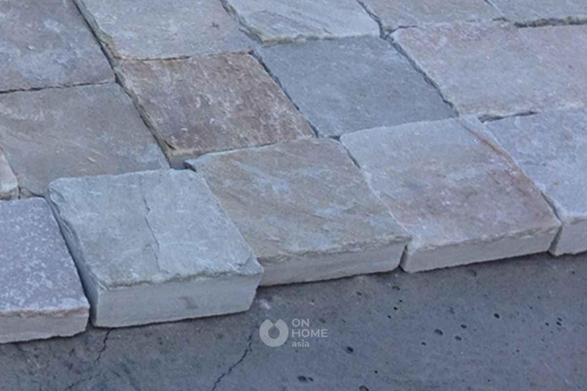 Sàn đá tự nhiên ốp sàn.