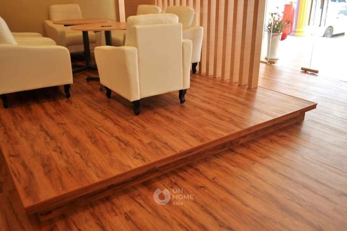 Sàn gỗ tự nhiên đẹp.