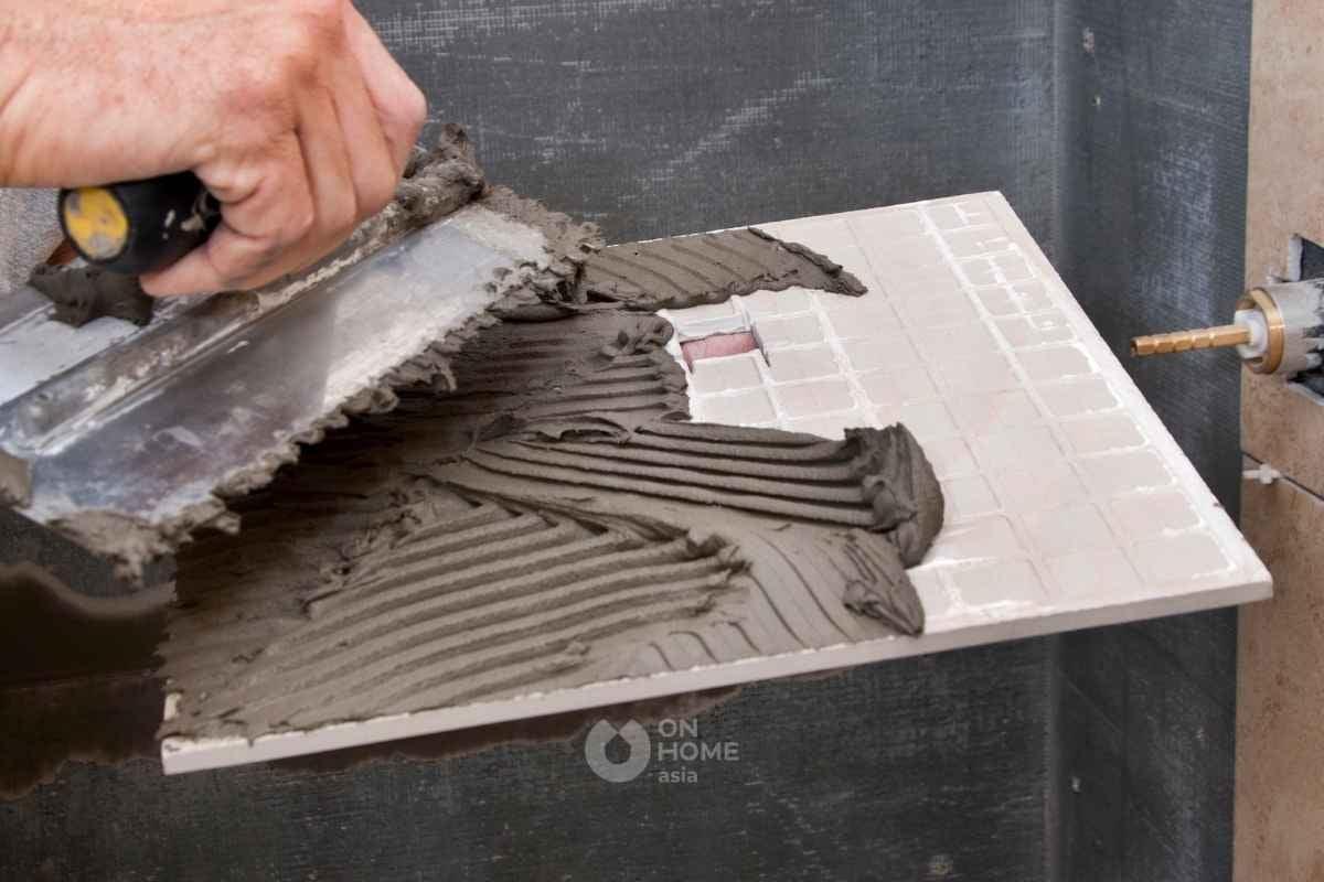 Sử dụng gạch Porcelain chất lượng.