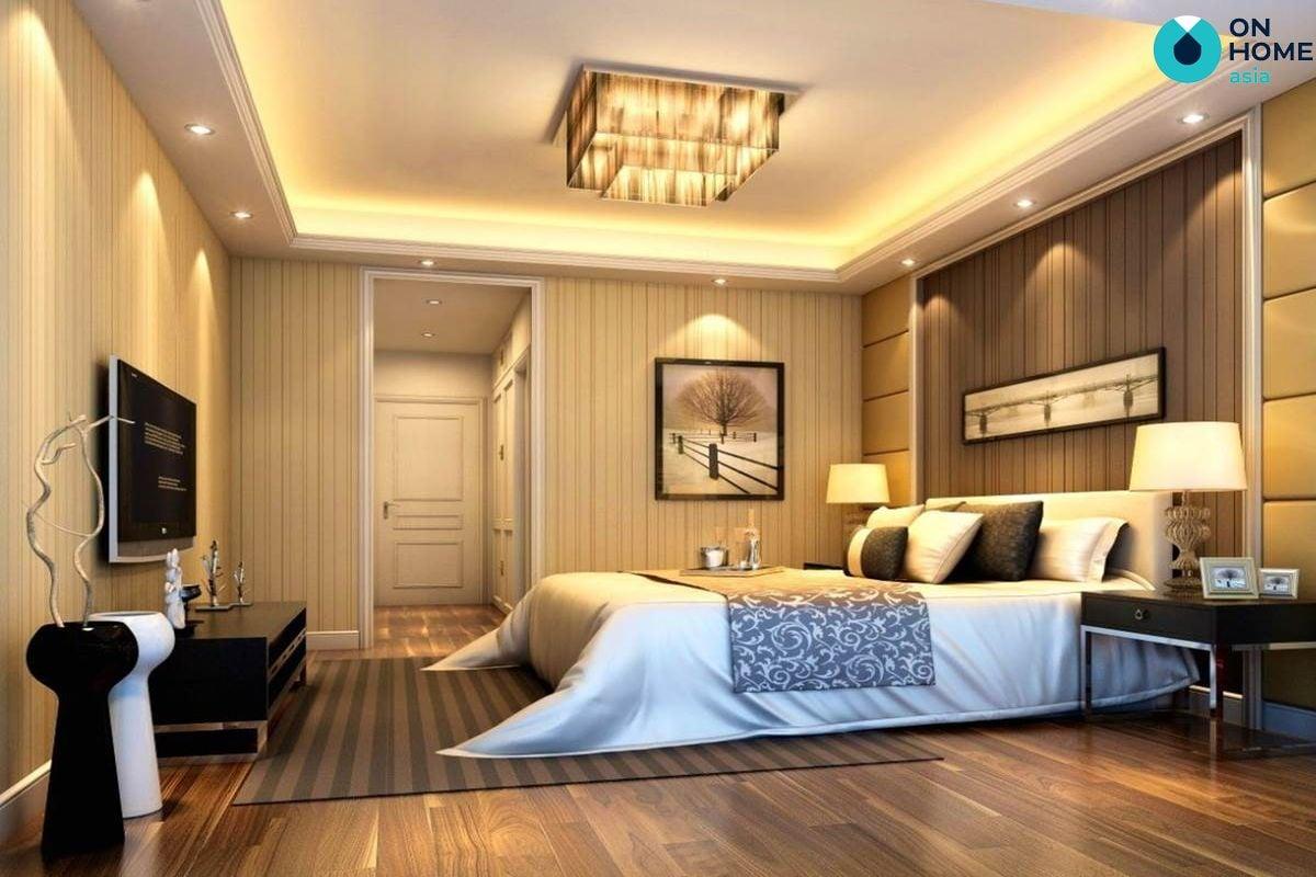 Ánh sáng nội thất phòng ngủ