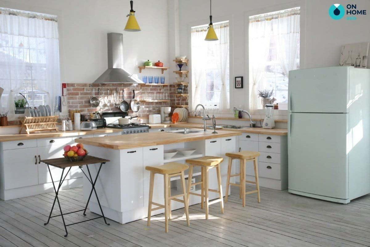 bàn ăn nhà bếp nhỏ