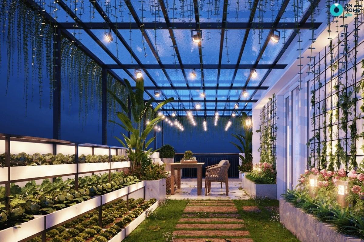 thiết kế khu vườn nhỏ cho ban công