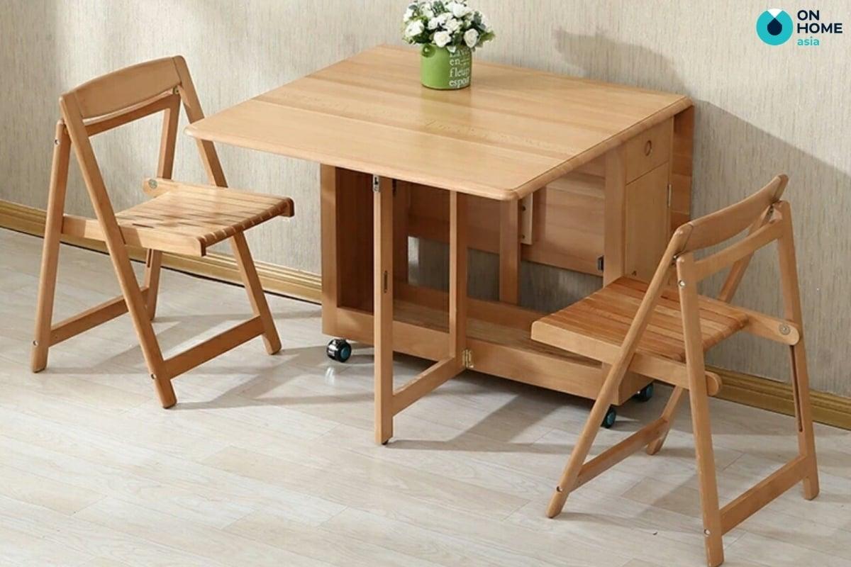 bàn học bằng gỗ tự nhiên