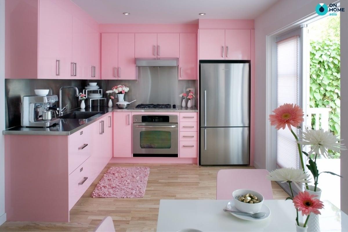 Kiêng đẻ bếp gần tủ lạnh