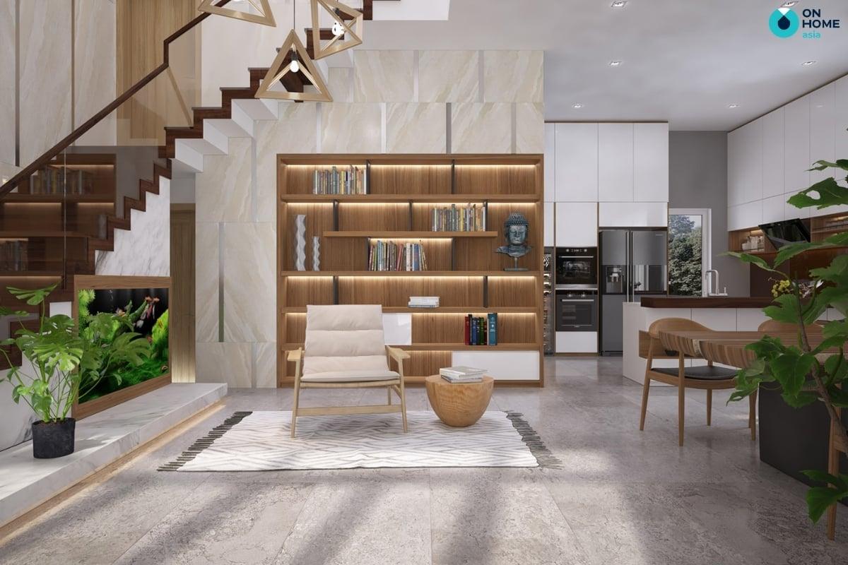 phòng bếp không gian tinh tế