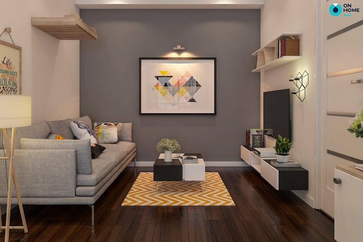 Bí quyết chọn tranh treo tường phòng khách cực chuẩn