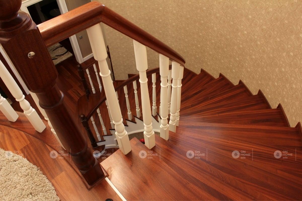 các màu cầu thang theo phong thủy