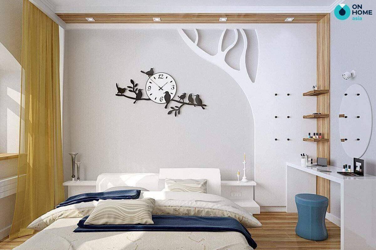 cách trang trí phòng ngủ 20m2 đẹp