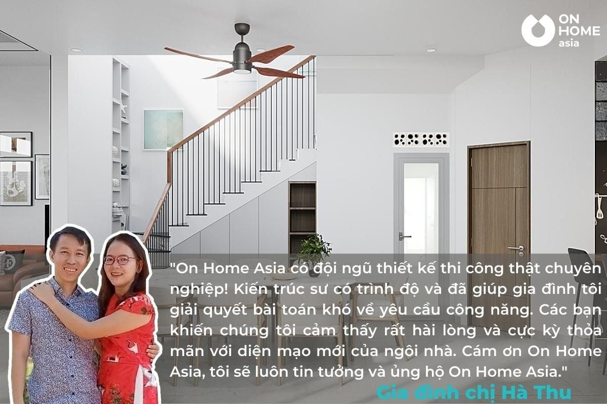 Cảm nhận của khách hàng về On Home Asia
