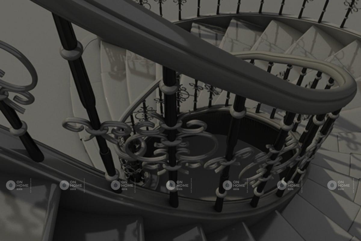 chất liệu cầu thang