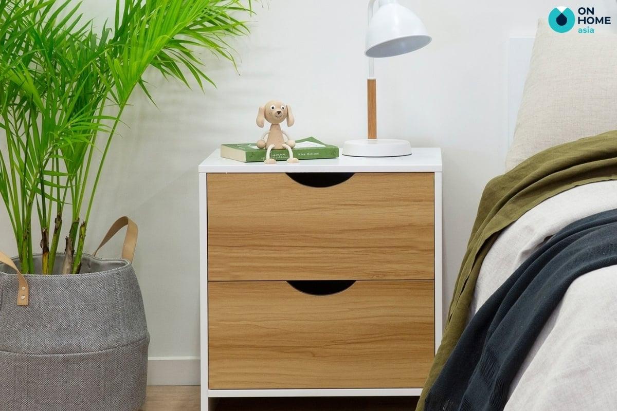 mẫu tab đầu giường đẹp bằng gỗ