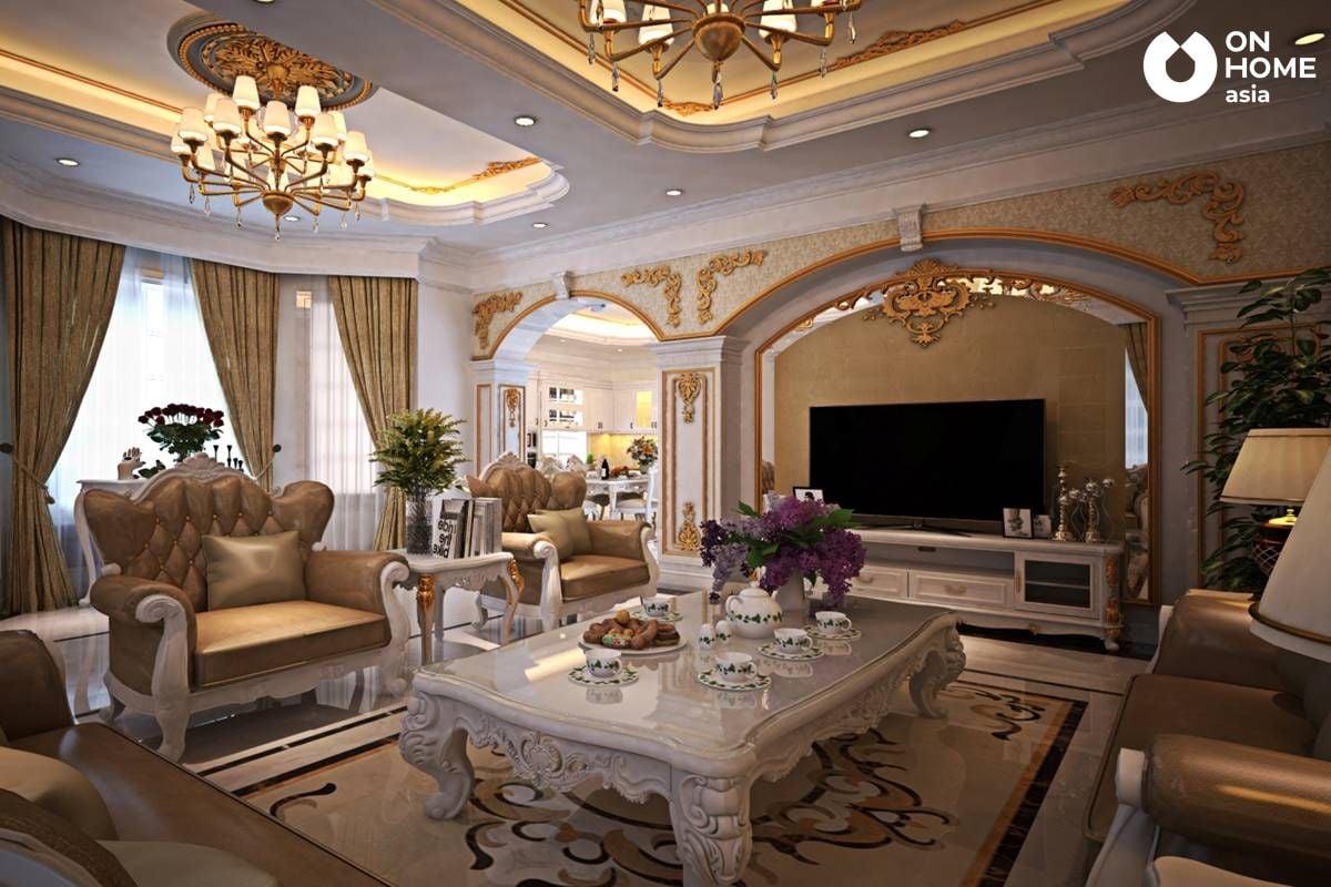 Chất liệu thiết kế nội thất