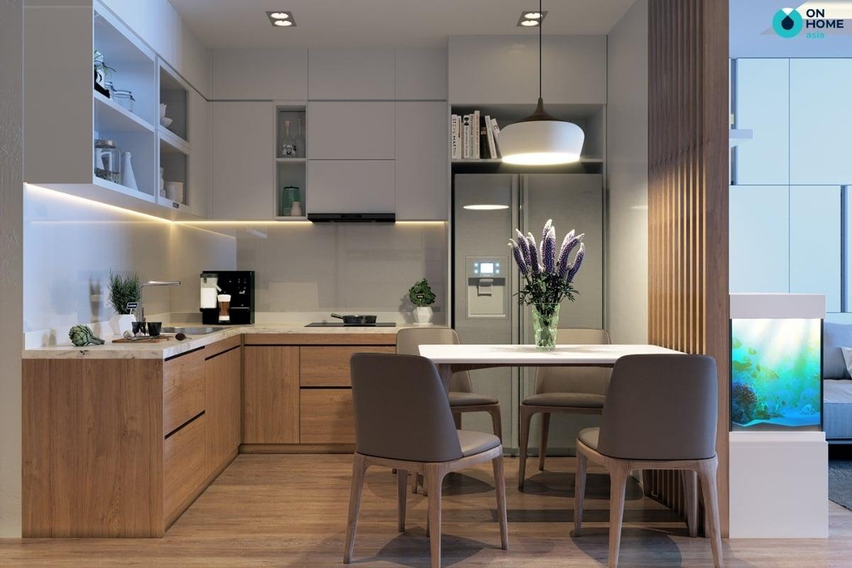 bếp nhỏ chung cư