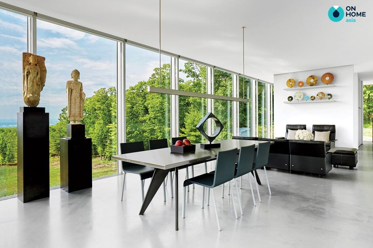 Tính đối xứng trong thiết kế nội thất hiện đại