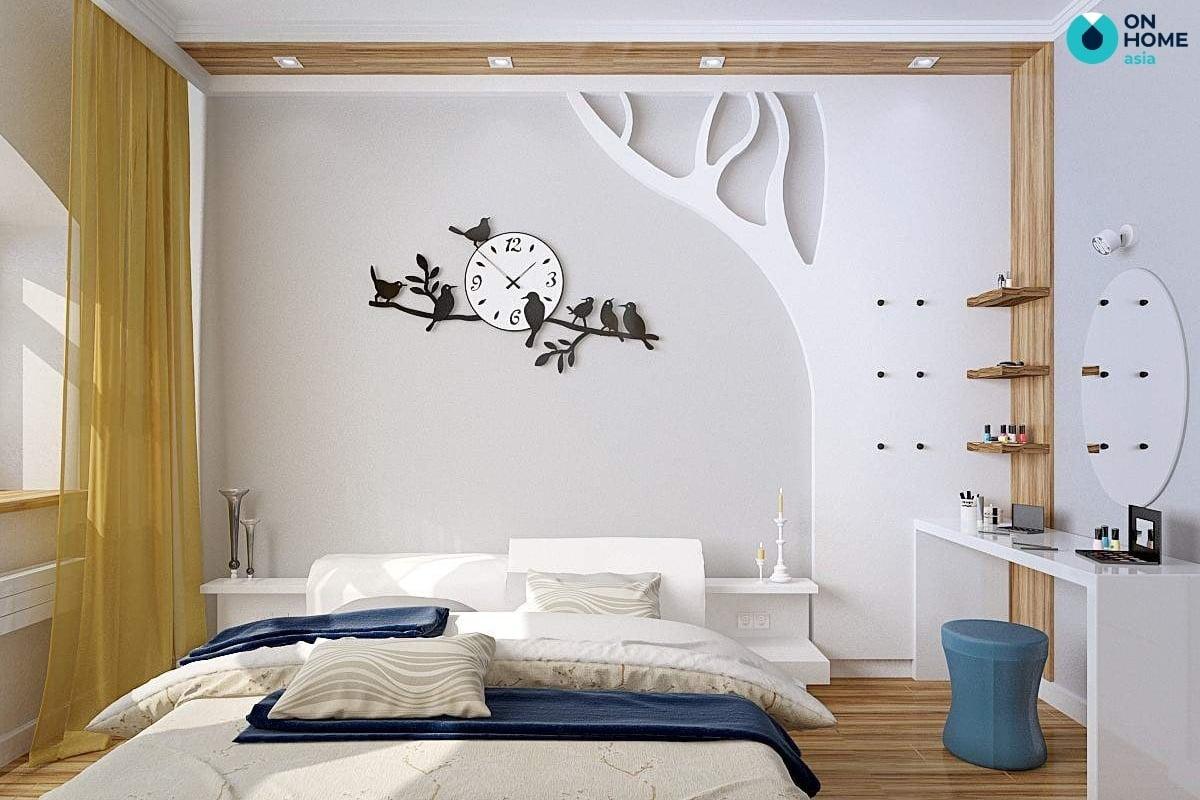 phòng ngủ 20m2 trang trí đơn giản