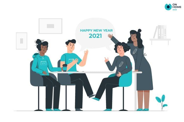 Lời chúc năm mới cho công ty, đồng nghiệp