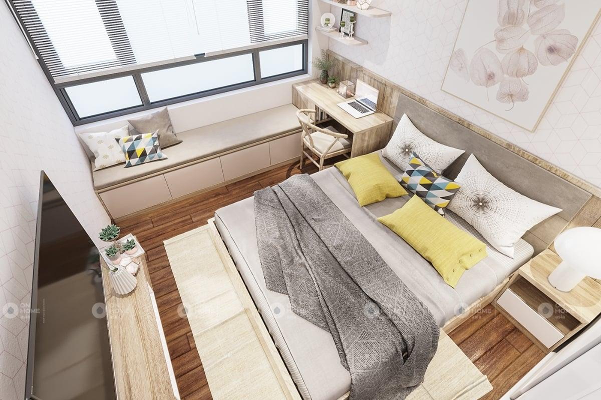 Nội thất bên trong căn hộ Eco Xuân 2 phòng ngủ