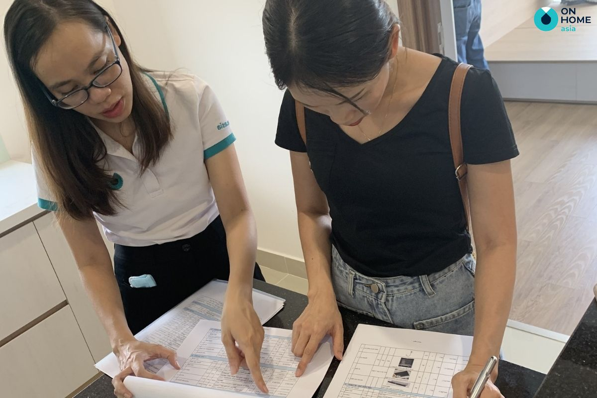 Giá thành thiết kế nội thất phòng ngủ của On Home Asia vô cùng chi tiết và phù hợp với ngân sách của anh/chị