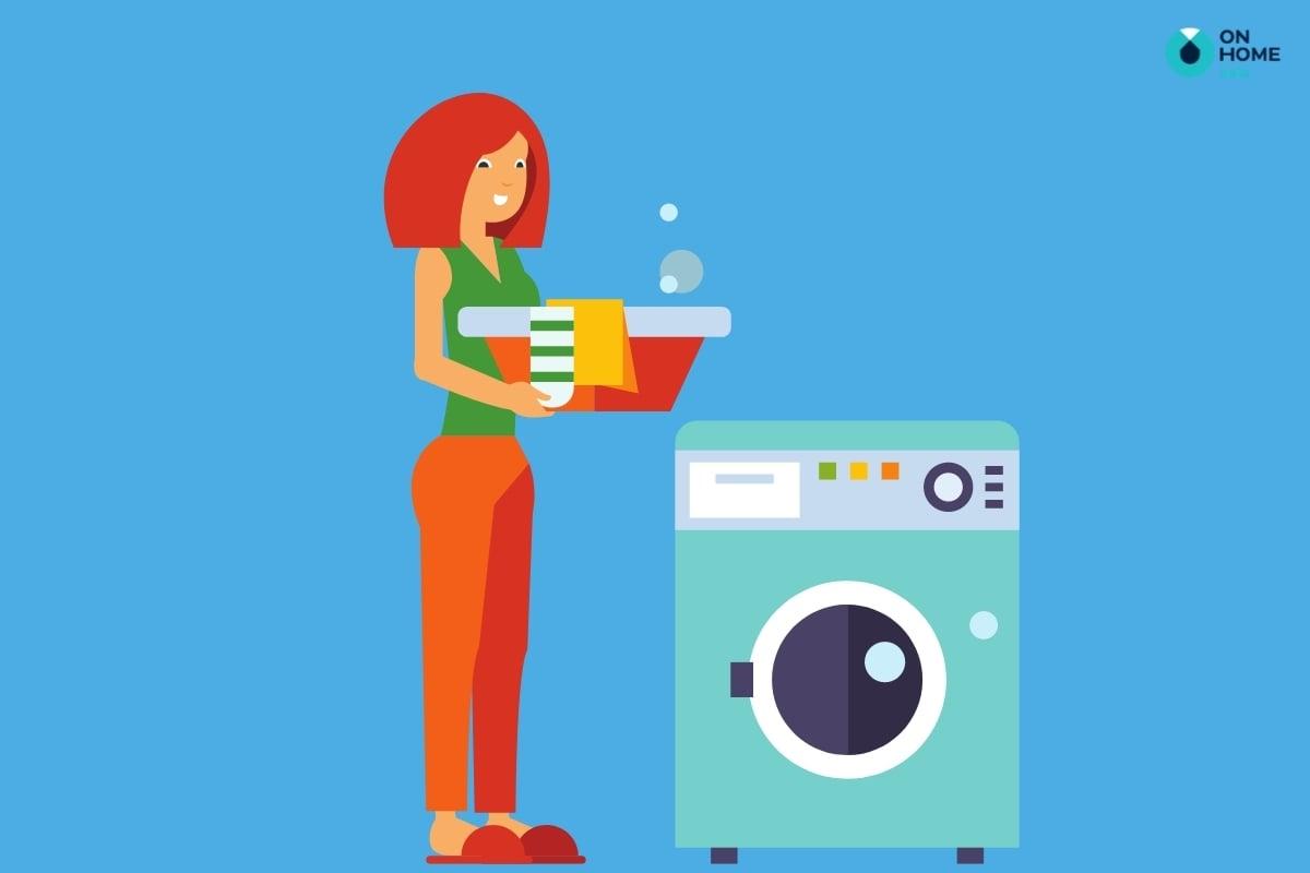 không giặt đồ