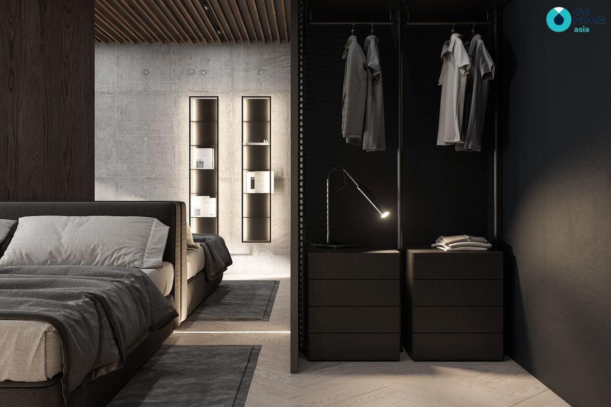 Giường ngủ có thiết kế đầu giường đẹp