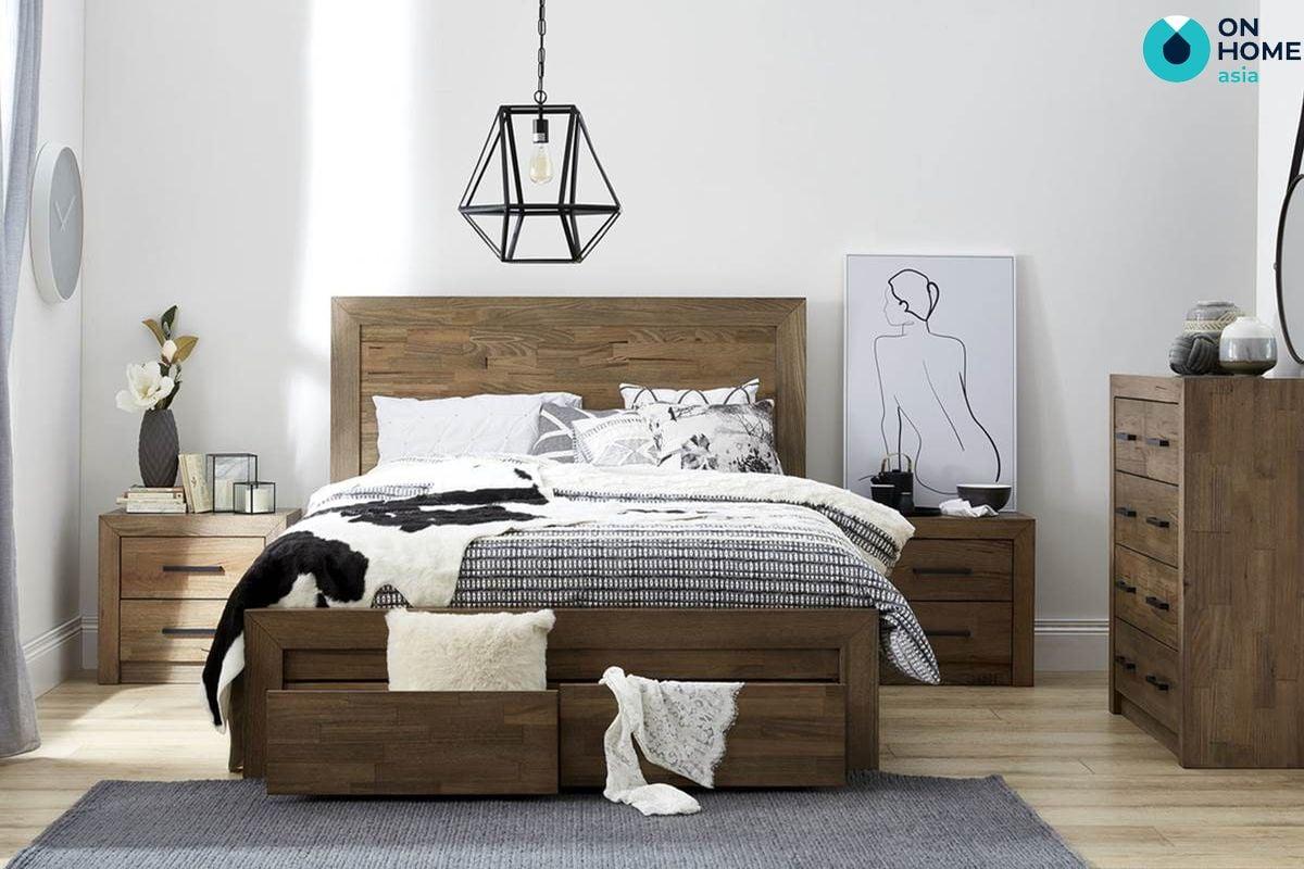 Giường ngủ dành cho không gian hẹp