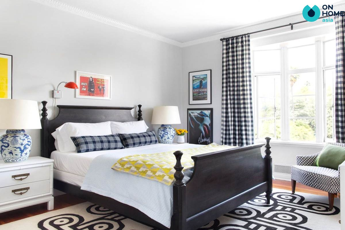 Giường ngủ kết hợp với ánh sáng