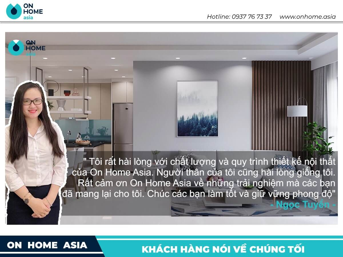 khach hang noi ve on home asia