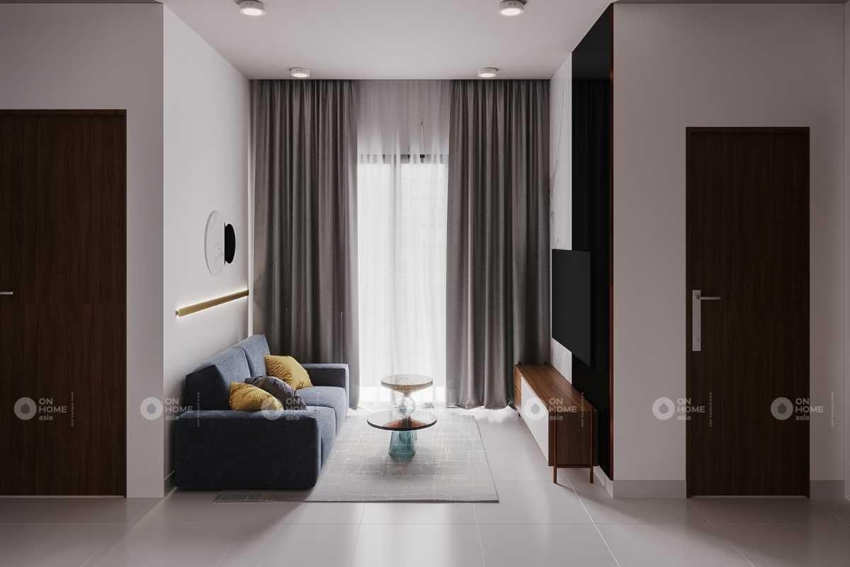 Thiết kế nội thất căn hộ Eco xuân Sky Residence 3 phòng ngủ