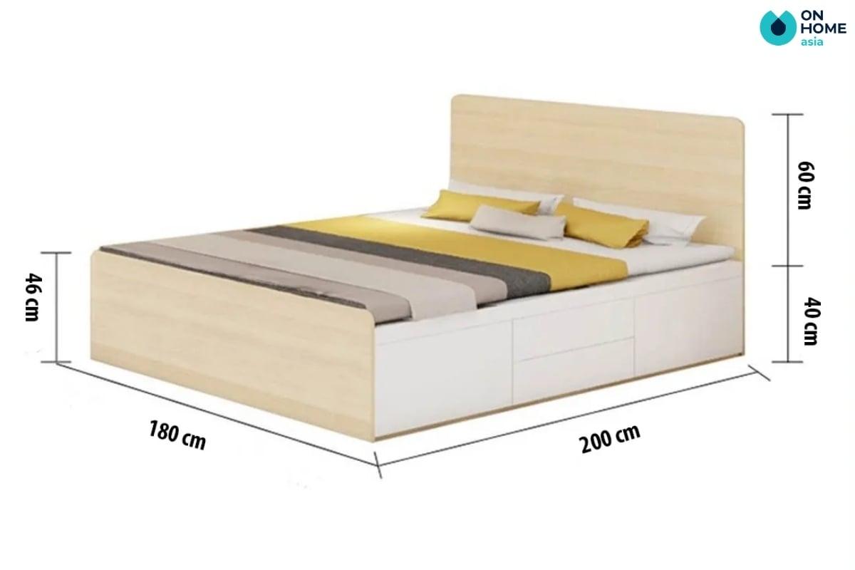 Kích thước giường ngủ  hiện đại