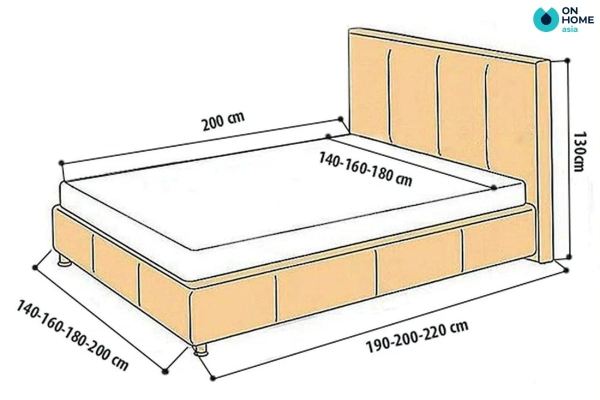 Kích thước giường ngủ lớn