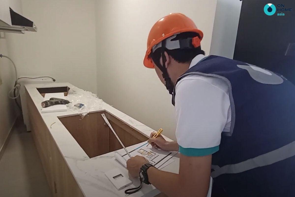 Kiểm tra nội thất khi thi công