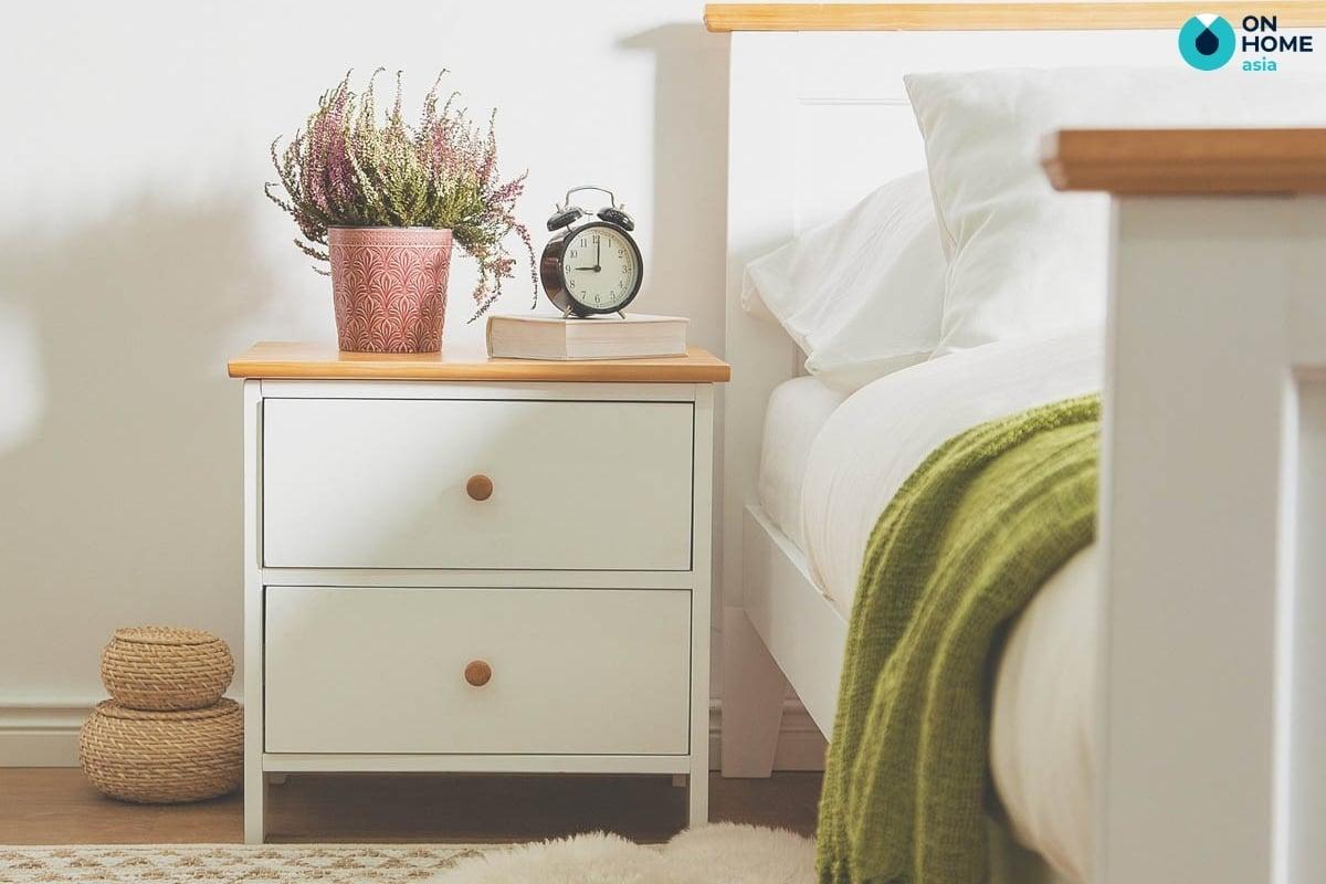 Tủ đầu giường ngăn rộng
