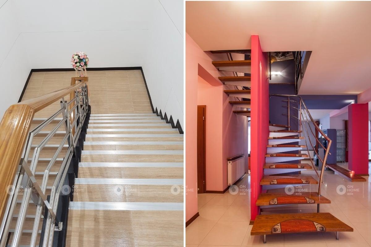 lỗi thường gặp khi thiết kế cầu thang