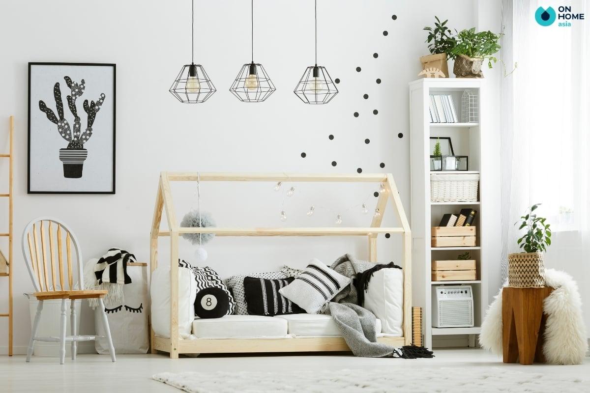 Lựa chọn cho phòng ngủ cho bé