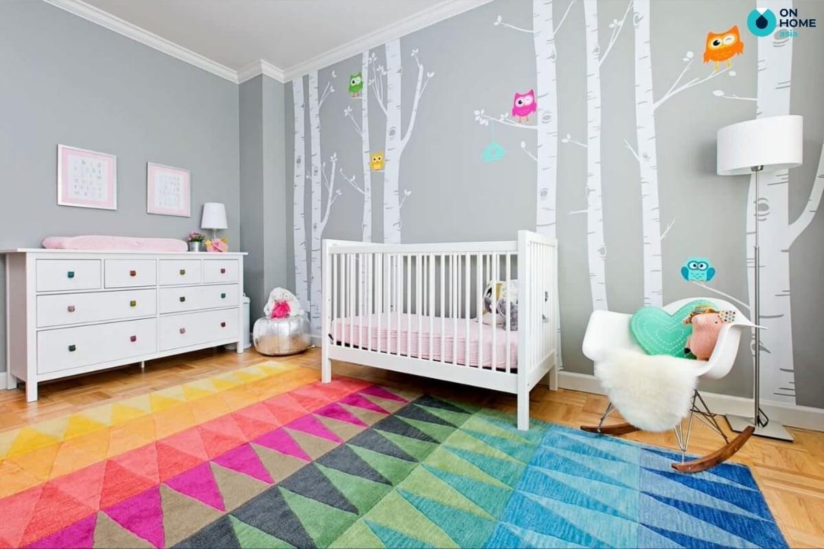 Chọn nội thất phù hợp với bé 3 tuổi