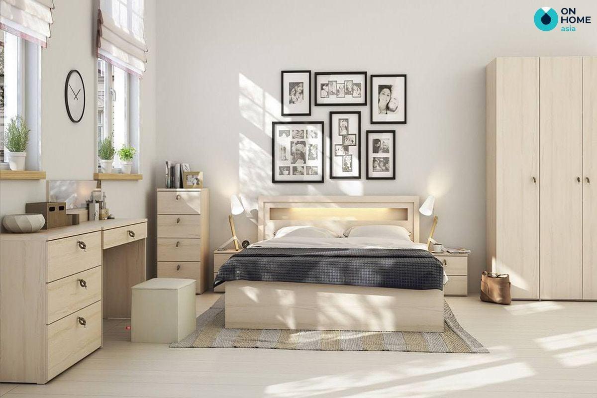 Thiết kế nội thất dành cho phòng ngủ có kích thước lớn