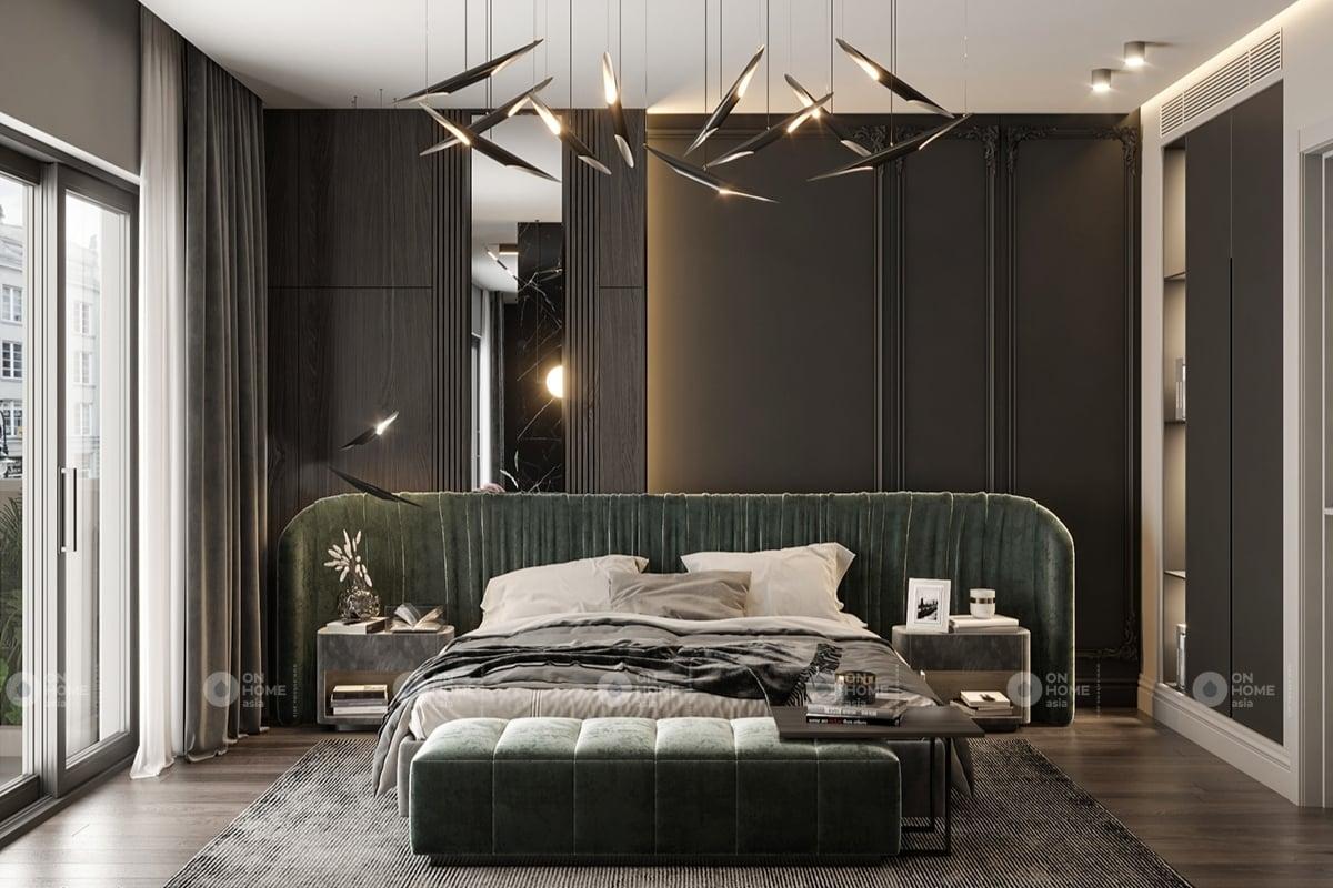Thiết kế phòng khách sang trọng và ấm cúng