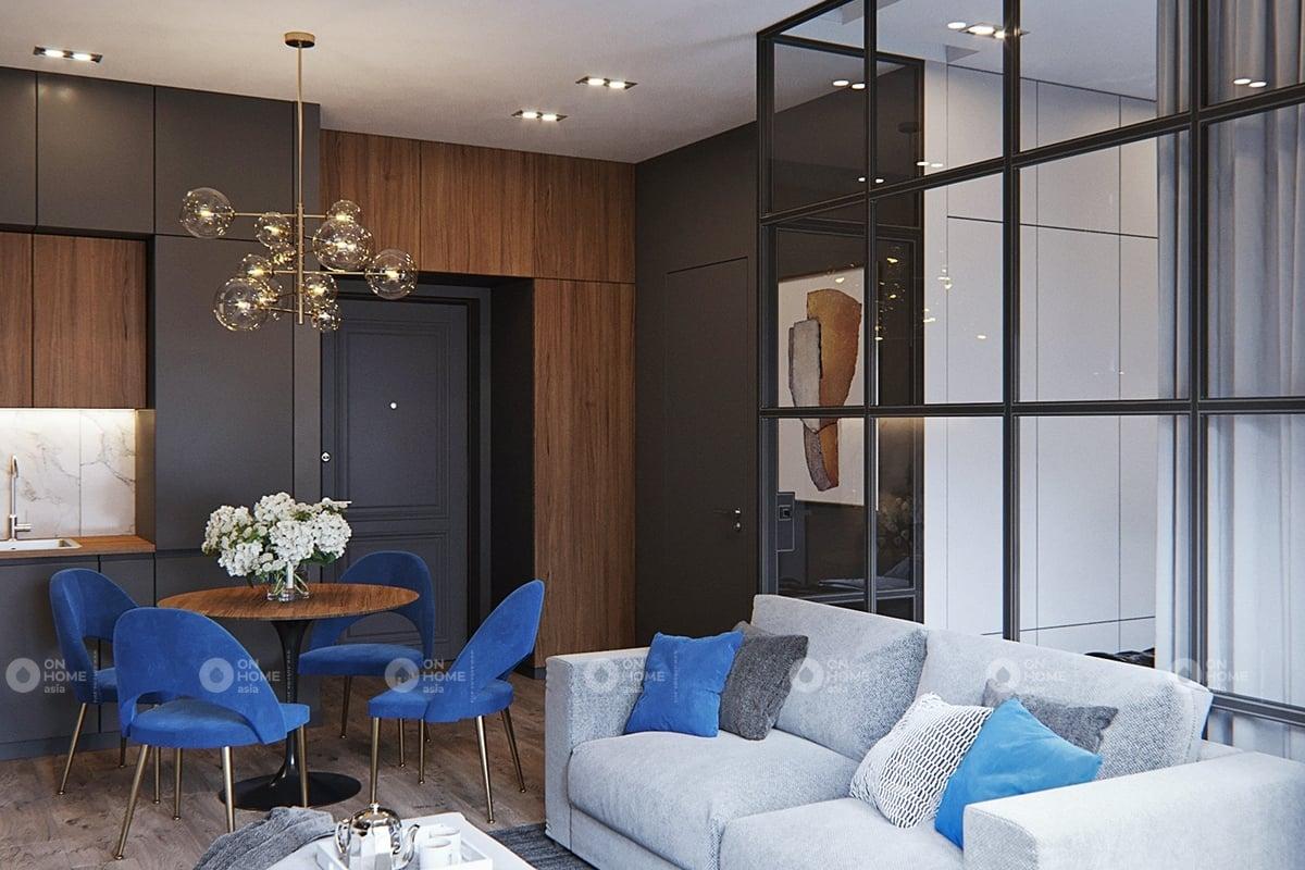 Thiết kế phòng khách sang trọng và tinh tế