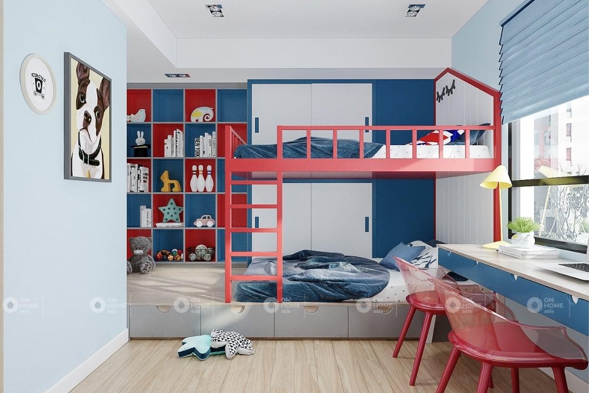 mẫu 3 phòng ngủ của căn hộ Eco xuân  (4)