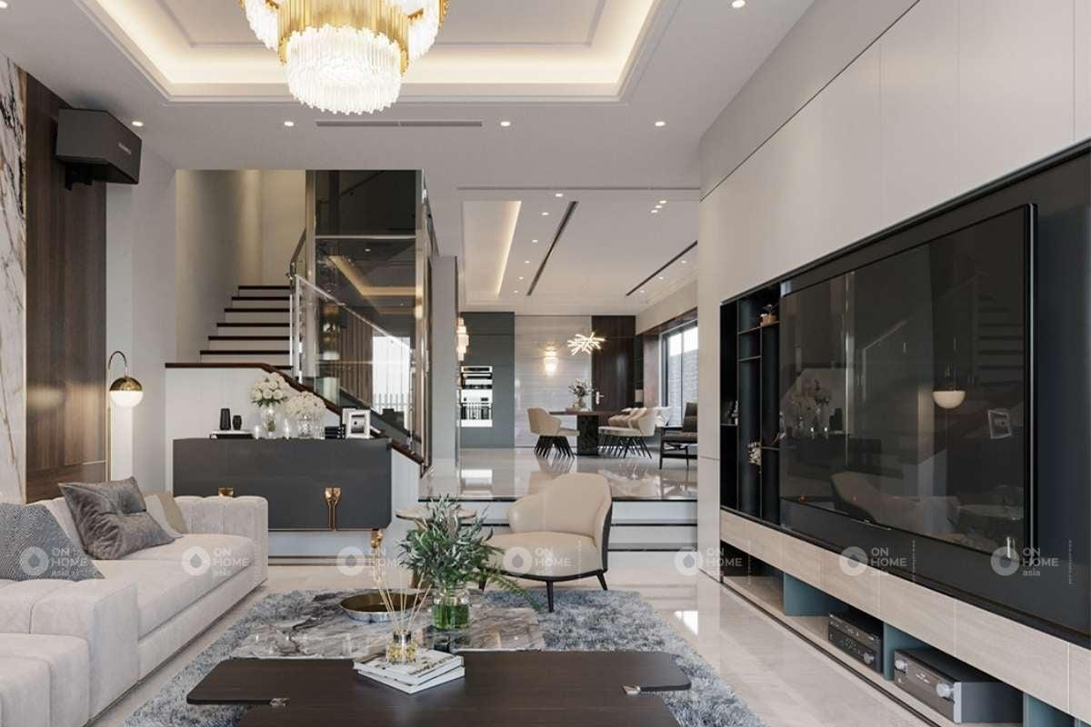 Ánh sáng là yếu tố quan trọng trong thiết kế phòng khách