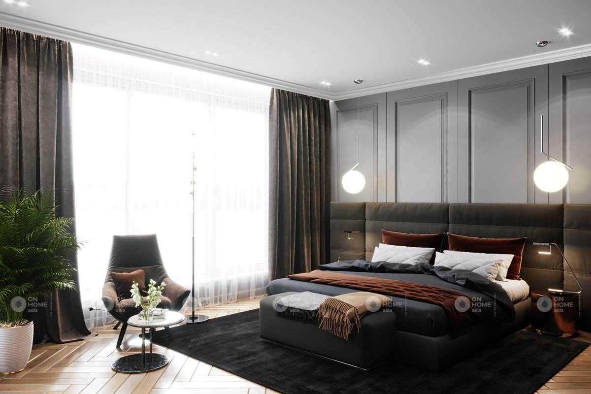 Phòng ngủ chung cư 90m2
