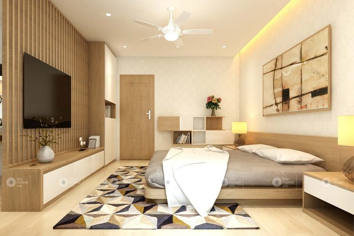 Thiết kế phòng ngủ master thanh lịch và sang trọng